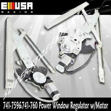 Front Left+Right Power WindowRegulator for 02-05 Chevy Cavalier  LS Coupe 2D