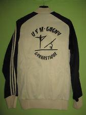 Veste Adidas Ventex USM Gagny Gymnastique 70'S creme Vintage Jacket - 168 / S