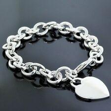 b16e86f388d78 Tiffany Oval Bracelet In Fine Charms & Charm Bracelets for sale | eBay