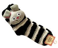 Tutuanna Japanese Women's Girls' Bunny Rabbit Striped Fleece Bed Warmer Socks
