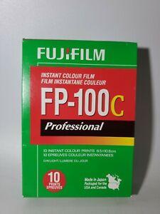Expired 2011 NEW UNOPENED  Fujifilm Fuji FP-100C Instant Color Film Professional