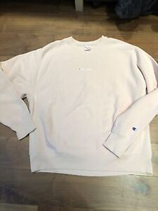 New Without Tags Champion Pink Sweatshirt Sz L