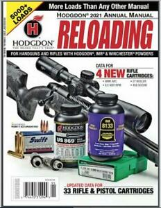 HODGDON ANNUAL RELOADING MANUAL 2021 - SOFTCOVER - NEW - FREE SHIP
