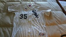 FRANK THOMAS AUTOGRAPHED CHICAGO WHITE SOX  JERSEY SIZE L MAJESTIC