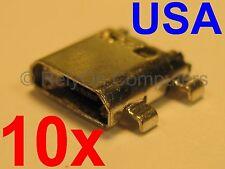 10x Lot of Samsung Galaxy J7 Sm-J700 Series Micro Usb Port for Charging Sync Usa