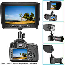 """Neewer NW708-M 7"""" On-Camera Field Monitor for Canon Nikon Sony Olympus Pentax"""