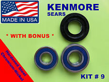 FRONT LOAD WASHER,2 TUB BEARINGS AND SEAL, Kenmore,Sears, KIT # 9