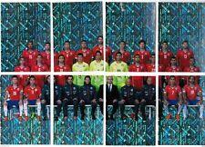 Chile version 2015 Panini Copa America Soccer Sticker Full Set Coca Cola Edicion