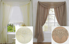 Polyester Art Deco Style Ready Made Curtains & Pelmets