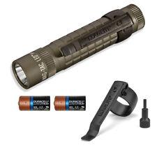 Maglite Mag Tac SG2LRF6 310 Lumens Plain Bezel LED Flashlight w/ CR123 Batteries