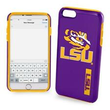 LSU Tigers NCAA iPhone 6 Impact Dual Hybrid 2 Piece 3D Phone Case Cover