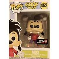DISNEY MAX GOOF TROOP Funko Pop Vinyl New in Mint Box + GameStop sticker + P/P