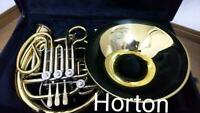 Horton H478 Full-double Horn B flat F from Japan free shipping