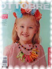 Die neue Ottobre 1/2017 Frühjahr Schnittmusterheft Kinder Kids Fashion