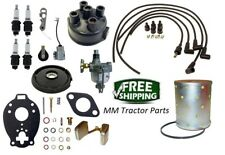 John Deere 1010 2010 Tractor Distributor Tune up, Carburetor kit, Oil Filter +
