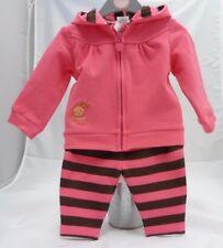 02029ed0d8b5f Baby Club ensemble sport rose rayures bébé fille 6 mois