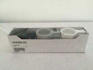 Ikea Ypperlig Hay Taper Candle Tea Light Holder NIB Set of 3 White Gray Black