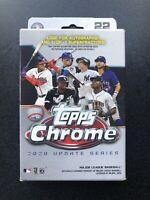 ✅⚾️🔥2020 Topps Chrome Update Series Hanger Box MLB