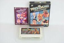 WWF WRESTLE MANIA CHALLENGE Ref/181 Famicom NINTENDO fc
