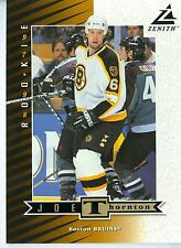 "Joe Thornton 1997-98 Pinnacle '97 Zenith Dare to Tear 5""x7"" Boston Bruins #Z74"