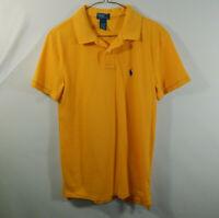 Ralph Lauren Polo Boys Short Sleeve Golf Shirt Kids Size YOUTH LARGE L 14 / 16