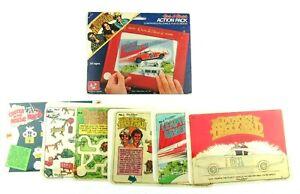 Vintage 1981 Etch a Sketch Action Pack Dukes of Hazzard Complete 6 Piece Set