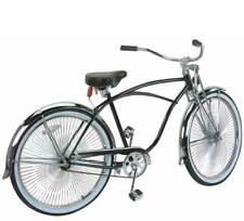"26"" Beach Cruiser Bike Bicycle Black Frame with 144 spokes"