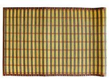 """Textiles Plus 100% 24"""" x 60"""" Natural Bamboo Floor Mat/Runner BM2460 New"""
