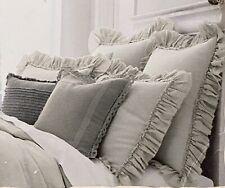 Wamsutta Vintage Ruffle Green Tea Euro Sham Pillow Sham Linen