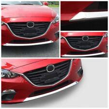 ABS Front Bumper Lip Cover Decoration Trim Refit For Mazda 3 AXELA 2014-2016