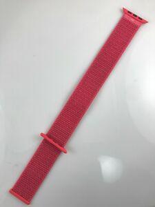Original OEM Apple Watch Series 6 SE 5 4 3 2 Sport loop 42mm 44mm band Hibiscus