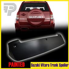 Painted Suzuki Grand Vitara 3rd SUV 5D Hatchback JLX-L Rear Trunk Spoiler 2014