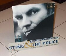 Cartonato Promo STING & THE POLICE The very best of POSTER Affiche advertising