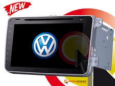 "AUTORADIO NAVIGATORE 8"" XL VOLKSWAGEN SKODA TOUCH DVD MP3 GPS PASSAT GOLF TIGUAN"