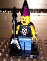 Lego Figur Serie 4 Punker Sammelfigur Minifig Punk Rocker