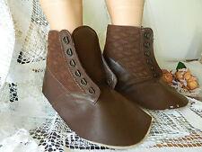 Vintage Italien Cobble Enfant Cuir Chaussure/Boot dure ~ unique intérieur/shop decor