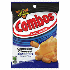 1 X Combos Cheddar Cheese Cracker 6oz Bags  - American Import