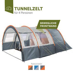 Skandika Kemi 4 Personen Familienzelt Festival Tunnel 480x340 cm B-Ware