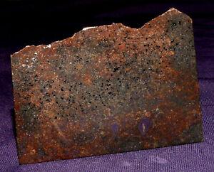 Stein-Meteorit Nova 009, Heilstein, 56x42x4mm 29,3g