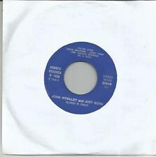 JOHN WOOLLEY and JUST BORN You're lying BELGIUM SINGLE RONNEX 1971