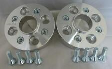 VW Up 2012 on 4x100 25mm Hubcentric Wheel spacers 1 pair inc bolts
