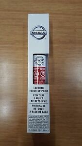 """OEM Nissan Touch-Up Paint + Clear Coat """"CAYENNE RED"""" Color Code NAH"""