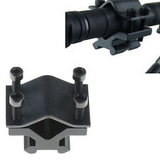 Adjustable Tactical 20mm Rail Barrel Mount Clamp for Rifle Gun Scope Sight Light