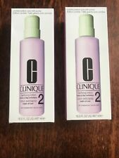 clinique 2x clarifying lotion #2 16.5oz each nib ltd ed size w pump