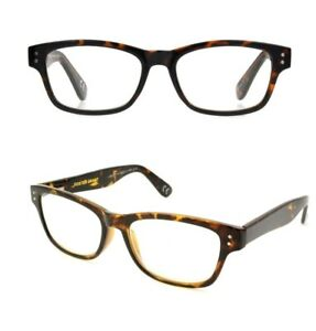 2 Pair +3.00 Foster Grant Brown Way Style Pure Advanced Reading Glasses Spg Hng