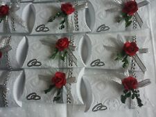 10 Gastgeschenke,Geschenkbox Hochzeit,Silber Hochzeitstag,Tischdeko