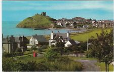 General View & Old Red Telephone Box, CRICCIETH, Caernarvonshire