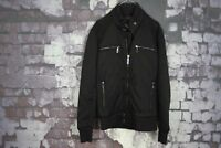 Zara Man Black jacket size M No.T335 04/2