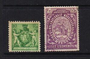 Liechtenstein - #59 mint, cat. $ 27.50+