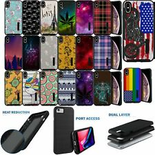 Case for Apple iPhone XS Max, Matte Grip Cover with Two Piece Design